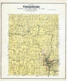 Cedarburg Township, Horn's Corners, Washington and Ozaukee Counties 1892 Published by C.M. Foote & Co