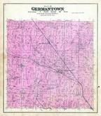 Germantown Township, South Germantown, Washington and Ozaukee Counties 1892 Published by C.M. Foote & Co