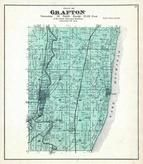 Grafton Township, Lake Michigan, Ulao, Washington and Ozaukee Counties 1892 Published by C.M. Foote & Co