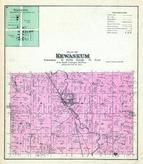 Kewaskum Township, Wayne P.O., St. Michaels P.O., Washington and Ozaukee Counties 1892 Published by C.M. Foote & Co