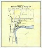 Thiensville and Mequon - North, Washington and Ozaukee Counties 1892 Published by C.M. Foote & Co