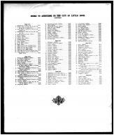 Table of Contents 2, Pulaski County 1906
