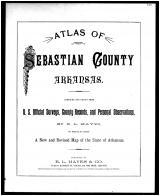 Title Page, Sebastian County 1887