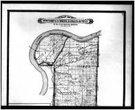 Townships 8, 9 N. Ranges 29, 30 W., Excelsior, Bloomer, Milltown, Central - Above, Sebastian County 1887