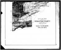 Sebastian County Coal Deposit Map - Below, Sebastian County 1903