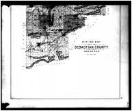 Sebastian County Outline Map - Below, Sebastian County 1903