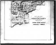 Sebastian County School District Map - Below, Sebastian County 1903