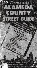 Title Page, Alameda County 1954 Street Guide
