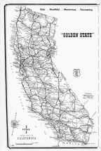 California State Road Map, Los Angeles County 1961