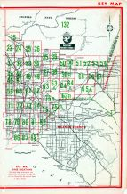 Index Map - Los Angeles City and County 2, Los Angeles County 1961