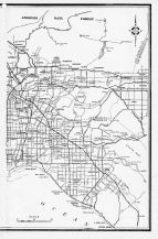 Los Angeles City and County Map 2, Los Angeles County 1961