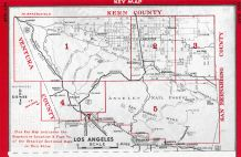 Index Map 1, Los Angeles and Los Angeles County 1949