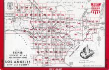 Index Map 2, Los Angeles and Los Angeles County 1949