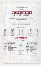 Map Legend, Los Angeles and Los Angeles County 1949