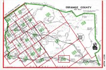 Index Map - Orange County, Orange County 1961