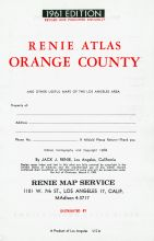 Title Page, Orange County 1961