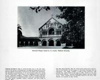 Memorial Chapel - Stanford University, Santa Clara County 1956