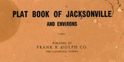 Title Page, Jacksonville and Environs 1940c Revised 1947