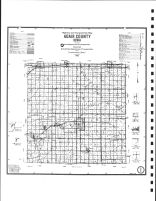 Adair County Highway Map, Adair County 1990