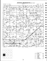 Code 9 - Jackson Township, Bridgewater Township - North, Adair County 1990