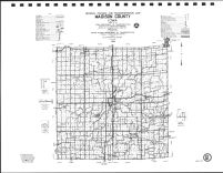 Madison County Highway Map, Adair County 1990