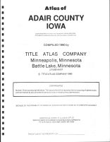 Title Page, Adair County 1990