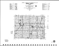 Union County Highway Map, Adair County 1990