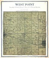 West Point Township, Butler County 1920c