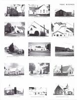 Aplington Baptist Church, United Methodist, Faith Lutheran, Presbyterian, St. Francis, Bethel, Green, Dumont, Clarksville, Butler County 1984
