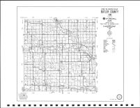 Butler County Highway Map, Butler County 2000