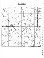 Butler Township Ditch Map, Calhoun County 1986