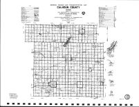 Calhoun County Highway Map, Calhoun County 1986