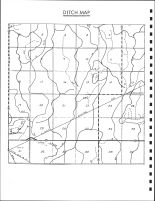 Center Township Ditch Map, Calhoun County 1986