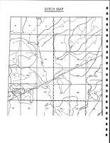 Elm Grove Township Ditch Map, Calhoun County 1986