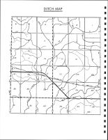 Garfield Township Ditch Map, Calhoun County 1986