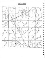 Greenfield Township Ditch Map, Calhoun County 1986