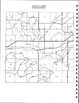 Jackson Township Ditch Map, Calhoun County 1986