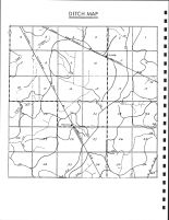 Logan Township Ditch Map, Calhoun County 1986