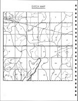 Sherman Township Ditch Map, Calhoun County 1986