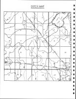 Twin Lakes Township Ditch Map, Calhoun County 1986