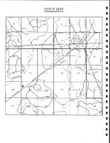 Union Township Ditch Map, Calhoun County 1986