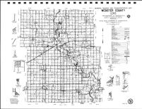Webster County Highway Map, Calhoun County 1986