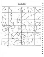 Willilams Township Ditch Map, Calhoun County 1986
