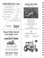 Glidden Mutual Insurance, Kloser Seed Store, Pioneer Valley Concrete, Jack alex, Malcom & Thompson Inc., Carroll County 1980