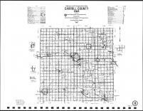 Carroll County Highway Map, Carroll County 2002