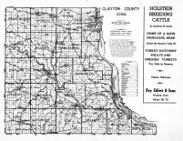 Clayton County Iowa, Clayton County 1950