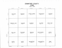 Crawford County Code Map, Crawford County 1990