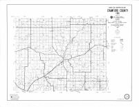 Crawford County Highway Map, Crawford County 1990
