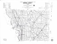 Monona County Map, Crawford County 1990