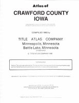 Title Page, Crawford County 1990